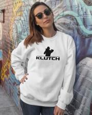 Official Klutch Logo Crewneck Sweatshirt lifestyle-unisex-sweatshirt-front-3