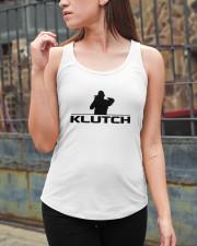 Official Klutch Logo Ladies Flowy Tank apparel-ladies-flowy-tank-lifestyle-06