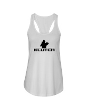 Official Klutch Logo Ladies Flowy Tank front