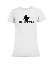 Official Klutch Logo Premium Fit Ladies Tee front