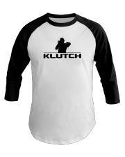 Official Klutch Logo Baseball Tee front