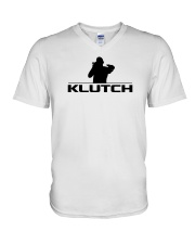 Official Klutch Logo V-Neck T-Shirt thumbnail