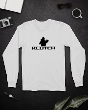 Official Klutch Logo Long Sleeve Tee lifestyle-unisex-longsleeve-front-5