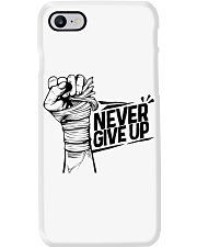 never give up Phone Case thumbnail