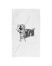 never give up Hand Towel thumbnail
