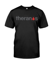 Theranos - Blood Drop Premium Fit Mens Tee front