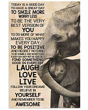 LAUGH LOVE LIVE 24x36 Poster front
