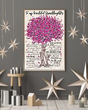 TO MY BEAUTIFUL GRANDDAUGHTER 24x36 Poster lifestyle-holiday-poster-1