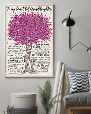 TO MY BEAUTIFUL GRANDDAUGHTER 24x36 Poster lifestyle-poster-1