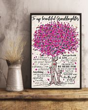 TO MY BEAUTIFUL GRANDDAUGHTER 24x36 Poster lifestyle-poster-3