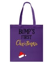 BUMPS FIRST CHRISTMAS Tote Bag thumbnail