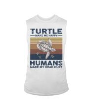TURTLE GRUNGE STYLE TSHIRT Sleeveless Tee thumbnail
