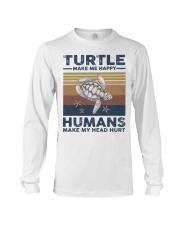 TURTLE GRUNGE STYLE TSHIRT Long Sleeve Tee thumbnail