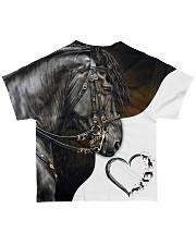 Heart Horse All-over T-Shirt back