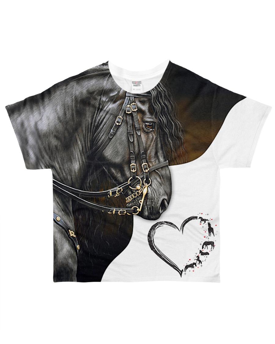 Heart Horse All-over T-Shirt