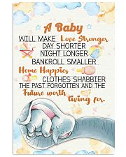 Elephant - A baby we make love poster 16x24 Poster front