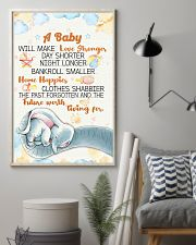 Elephant - A baby we make love poster 16x24 Poster lifestyle-poster-1