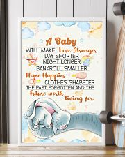 Elephant - A baby we make love poster 16x24 Poster lifestyle-poster-4