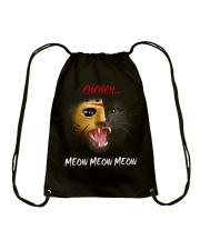 CHCHCH MEOW MEOW MEOW Drawstring Bag thumbnail