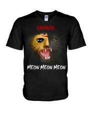 CHCHCH MEOW MEOW MEOW V-Neck T-Shirt thumbnail