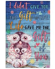 Owl - I did not give you 16x24 Poster front