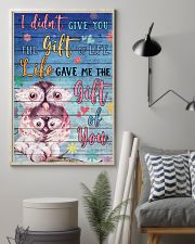 Owl - I did not give you 16x24 Poster lifestyle-poster-1