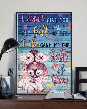 Owl - I did not give you 16x24 Poster lifestyle-poster-2