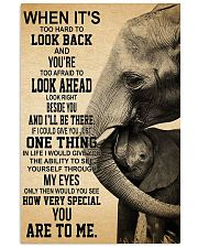 ELEPHANT 16x24 Poster front