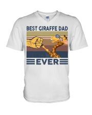 GIRAFFE VINGATE STYLE TSHIRT V-Neck T-Shirt front