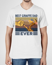 GIRAFFE VINGATE STYLE TSHIRT V-Neck T-Shirt garment-vneck-tshirt-front-01