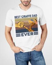 GIRAFFE VINGATE STYLE TSHIRT V-Neck T-Shirt garment-vneck-tshirt-front-lifestyle-01