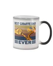 GIRAFFE VINGATE STYLE TSHIRT Color Changing Mug thumbnail