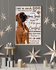 Boxer dog 24x36 Poster lifestyle-holiday-poster-1