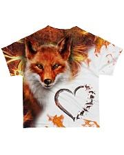 Heart fox All-over T-Shirt back