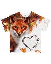 Heart fox All-over T-Shirt front