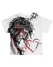 GOD IN MY HEART All-over T-Shirt front