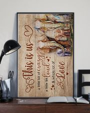 CRAZY LOUD LOVE 16x24 Poster lifestyle-poster-2
