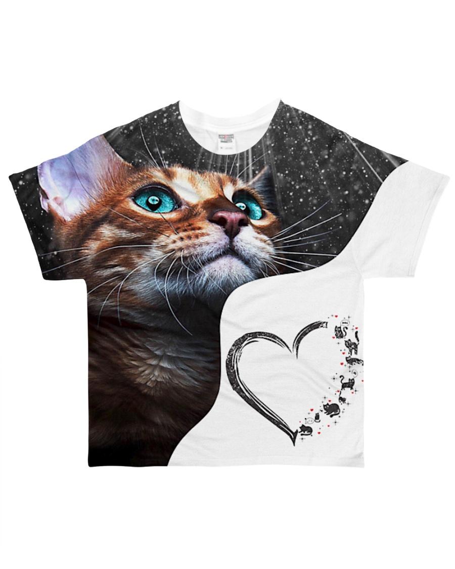 Heart cat 3 All-over T-Shirt