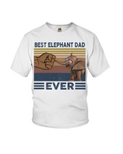 BEST ELEPHANT DAD Youth T-Shirt thumbnail