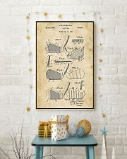 Golf Club Patent Drawing 16x24 Poster lifestyle-holiday-poster-3