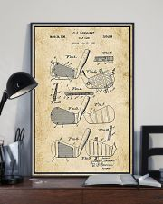 Golf Club Patent Drawing 16x24 Poster lifestyle-poster-2