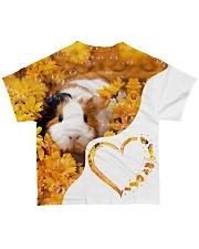Heart guinea pig All-over T-Shirt back