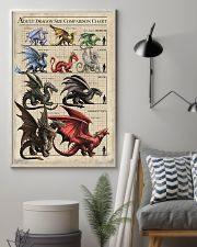 ADULT DRAGON SIZE COMPARISON CHART 16x24 Poster lifestyle-poster-1
