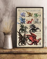 ADULT DRAGON SIZE COMPARISON CHART 16x24 Poster lifestyle-poster-3