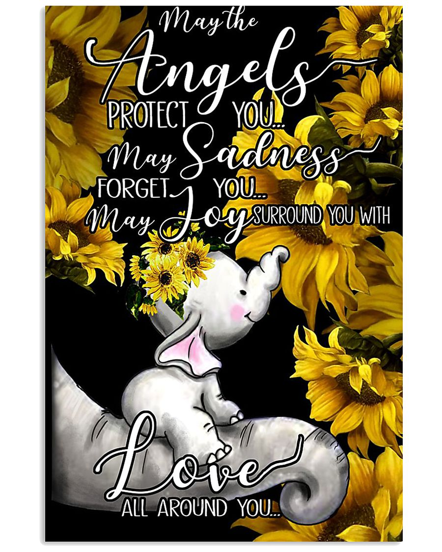 ANGELS PROTECT YOU 16x24 Poster