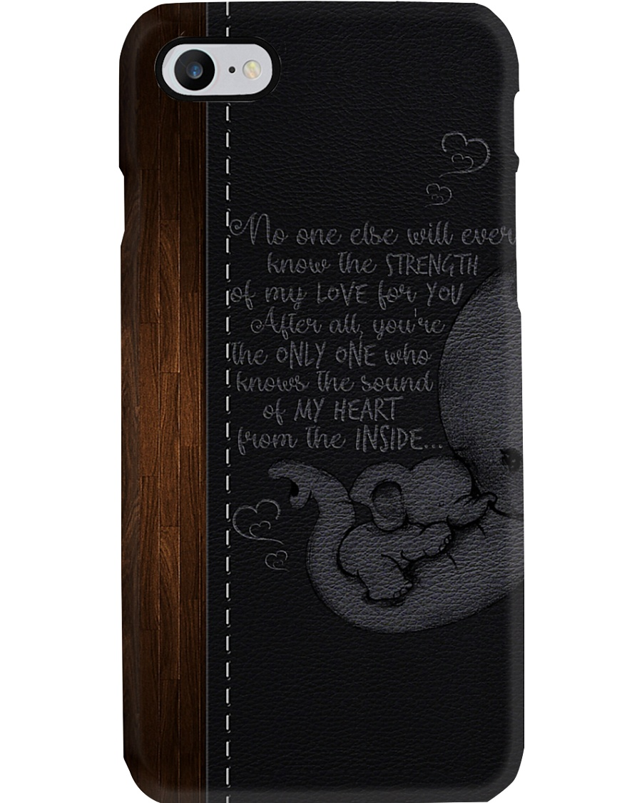 THE SOUND OF MY HEART FROM THE INSIDE  Phone Case