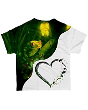 Heart Frog  All-over T-Shirt back