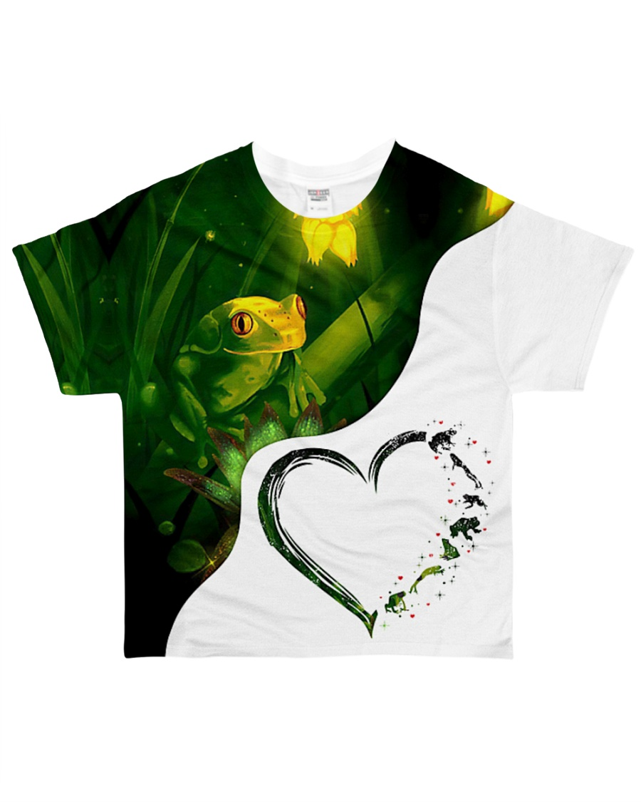 Heart Frog  All-over T-Shirt