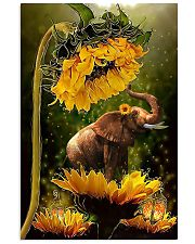 ELEPHANT SUN 16x24 Poster front