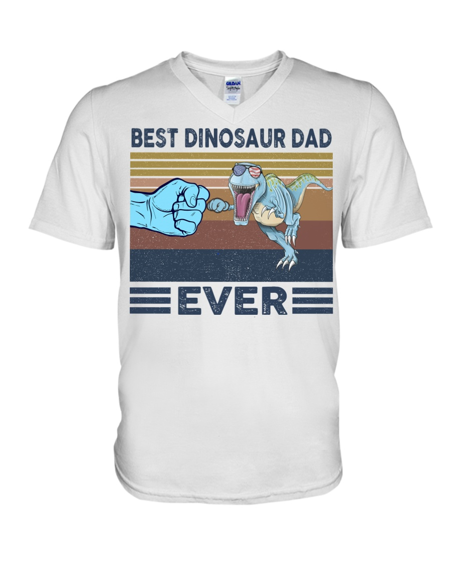 Dinosaurs VINGATE STYLE TSHIRT V-Neck T-Shirt
